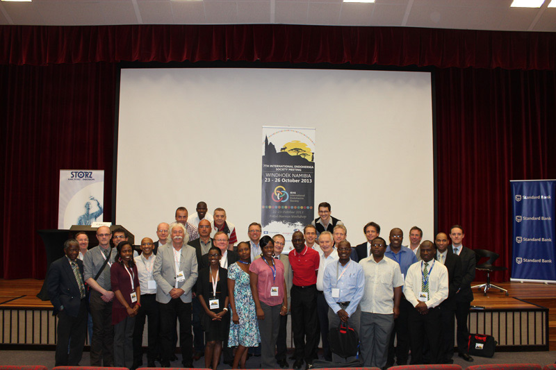 "Participants of the update conference on the ""Guidelines for laparoscopic (TAPP) and endoscopic (TEP) treatment of inguinal hernia [International Endohernia Society (IEHS)]"" in Windhoek/Namibia, 23th to 26th of October 2013."