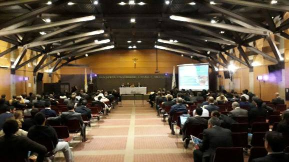 Meeting Hall in the catholic university.