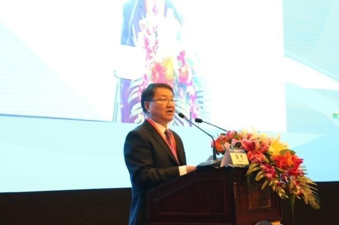 Professor Chen Jie, chairman of the conference addressed the conference
